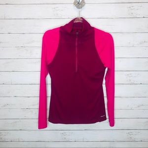 Nwot Patagonia 1/4 zip lightweight sz S pink